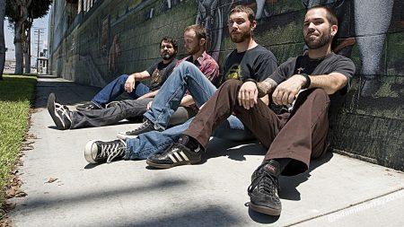 intronaut, band, street