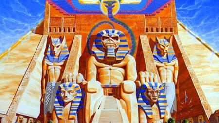 iron maiden, piramida, pharaohs