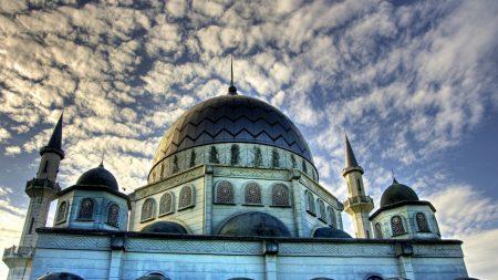 islam, mosque, sky