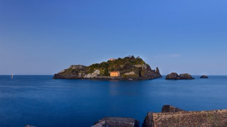 island, land, sea