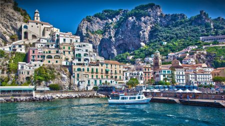 italy, city, amalfi