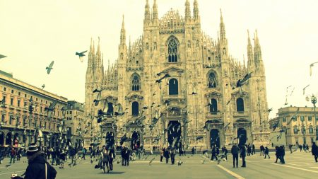 italy, milan, cathedral
