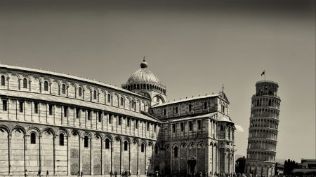 italy, pisa, leaning tower