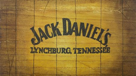 jack daniels, honey logo, letters