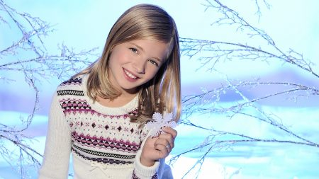 jackie evancho, girl, sweater