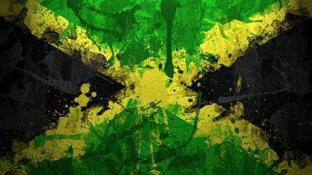 jamaica, flag, color
