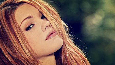 jamie langford, red hair, face