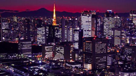 japan, tokyo, buildings