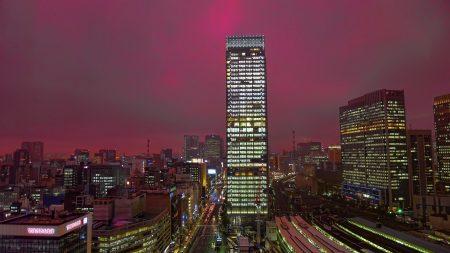 japan, tokyo, skyscraper