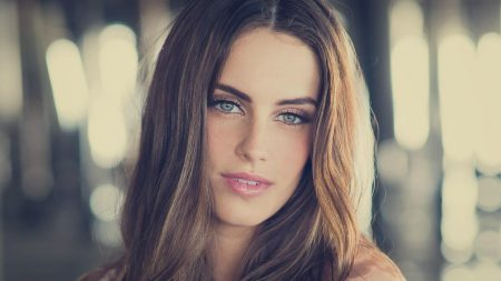 jessica lowndes, face, blurring