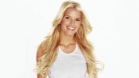 jessica simpson, smile, blonde
