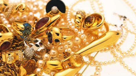 jewelry, gold, diamonds