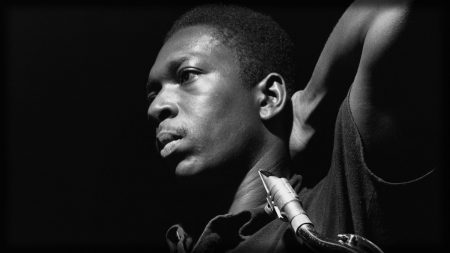 john coltrane, face, light