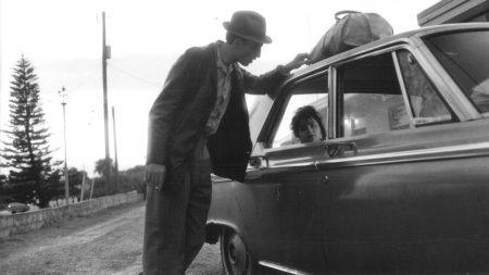 john lurie, car, girl