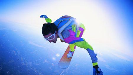 jump, moment, adrenaline