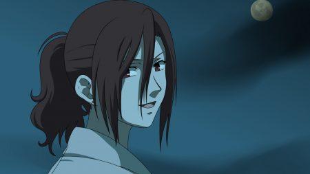kara no kyoukai, girl, smile