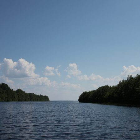 karelia, river, coast