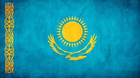 kazakhstan, flag, freedom