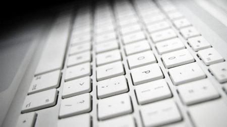 keyboard, white, mac