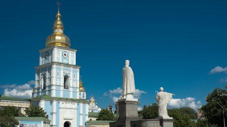 kiev, temple, sky