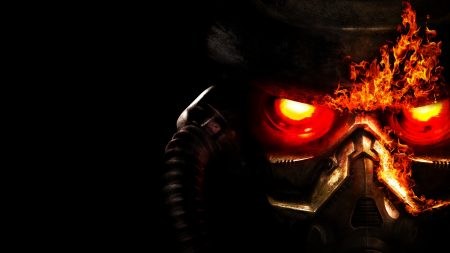 killzone, helmet, fire