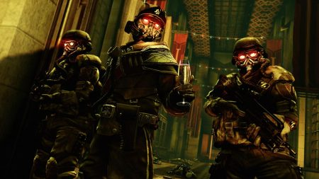 killzone, soldiers, eyes