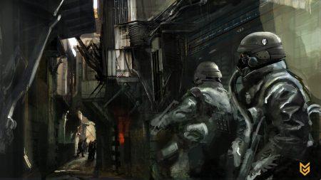 killzone, soldiers, fan art