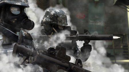 killzone, soldiers, gun