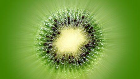kiwi, green, black