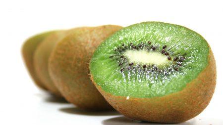kiwi, three, fruit