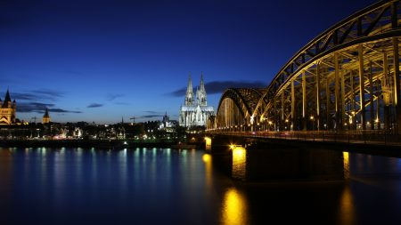 köln, germany, bridge
