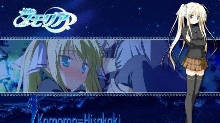 komomo hisakaki, girl, blonde