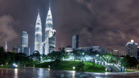 kuala lumpur, malaysia, night