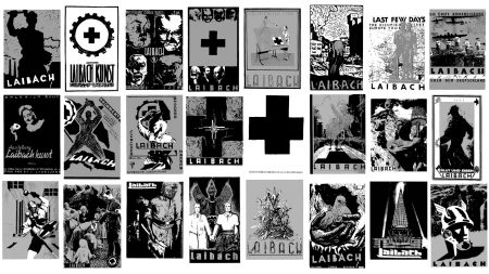 laibach, covers, graphics