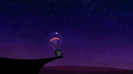 lamp, light, sky
