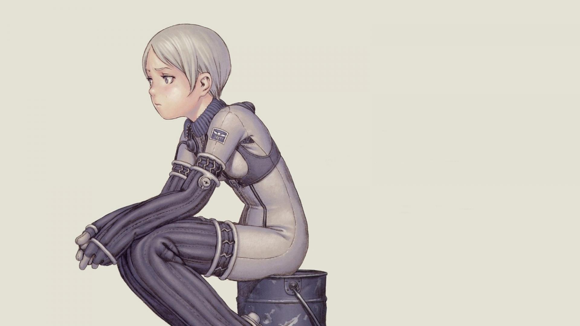 last exile range murata, girl, pose