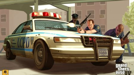 lcpd, gta 4, police