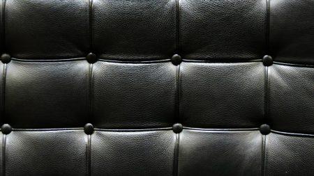leather, black, spots