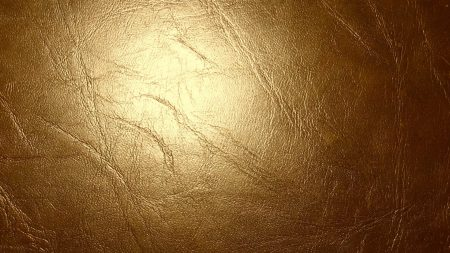 leather, gold, glitter
