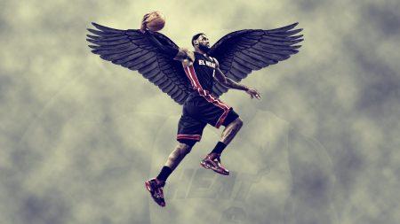lebron james, miami heat, wings