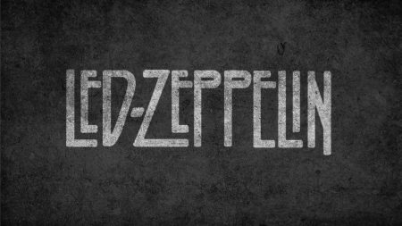 led zepplin, letters, background
