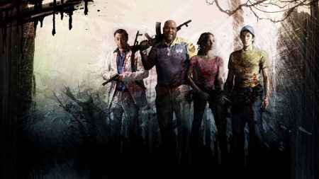 left 4 dead, characters, faces