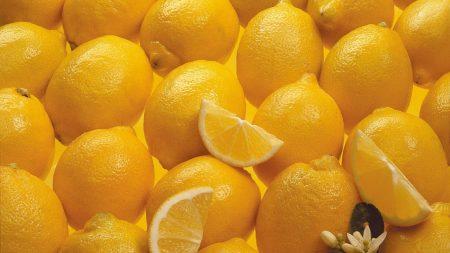 lemons, citron, yellow