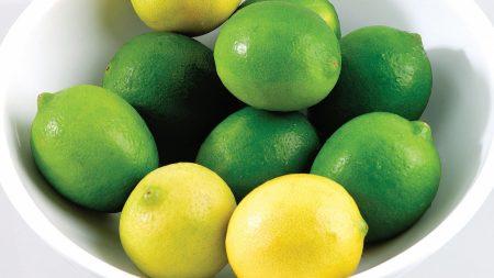 lemons, limes, citron