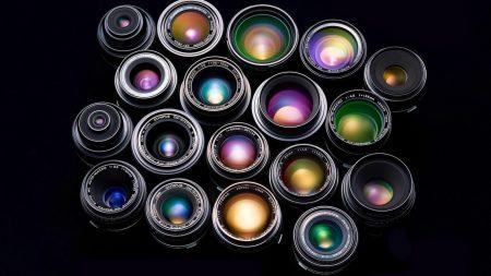 lenses, light, black
