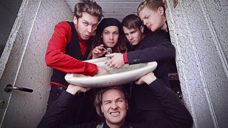 leprous, washbasin, band