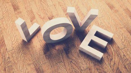letters, shape, love
