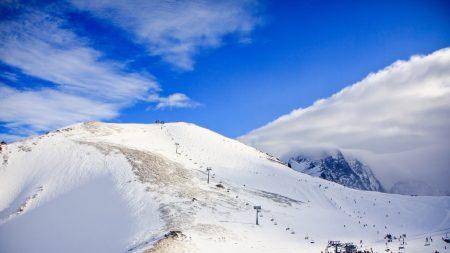 lift, mountains, caucasus