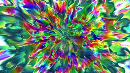 light, blur, rotation