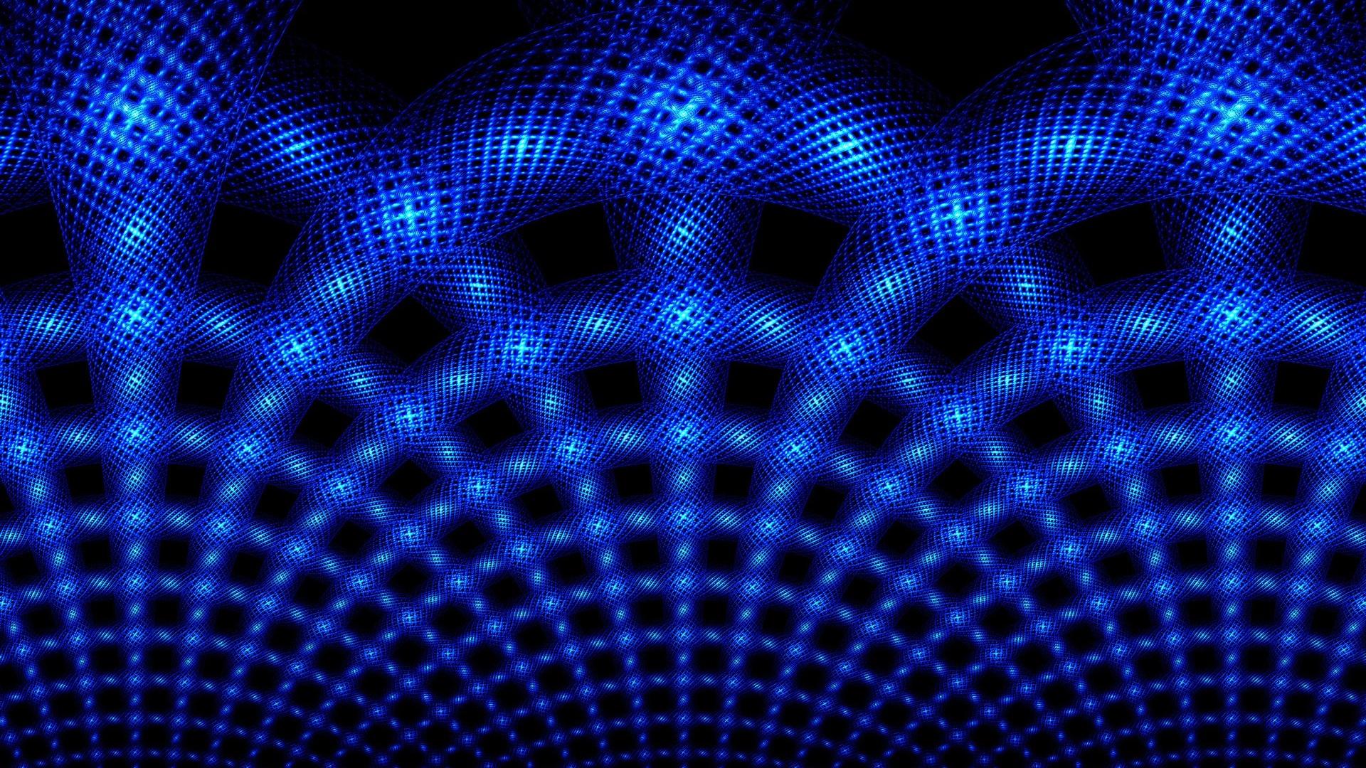 Download Wallpaper 1920x1080 Light Neon Mesh Shape Full Hd 1080p Hd Background